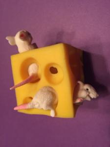 Turke Block of Swiss Cheese
