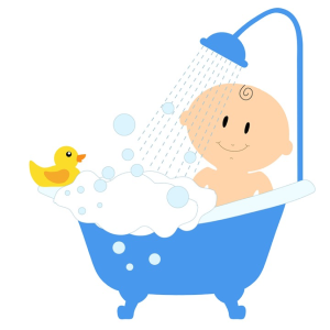 bathtub play Kaz pixabay