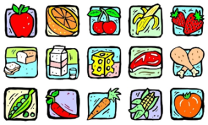 Turke healthy foods clip art