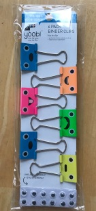 Yoobi Binder Clips