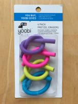 Yoobi Pretzel Erasers